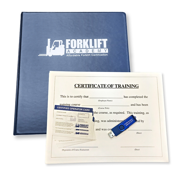 Forklift Certification Train The Trainer Kit Forklift Training Osha